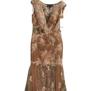 Jovani Evening Dress Cafe Color